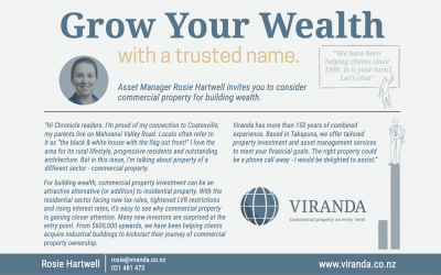 Grow your wealth, with a trusted name