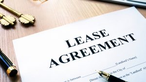 Commercial lease changes out of the blue!